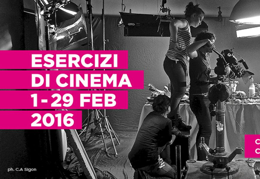 Esercizi Cinema 2016 Cover