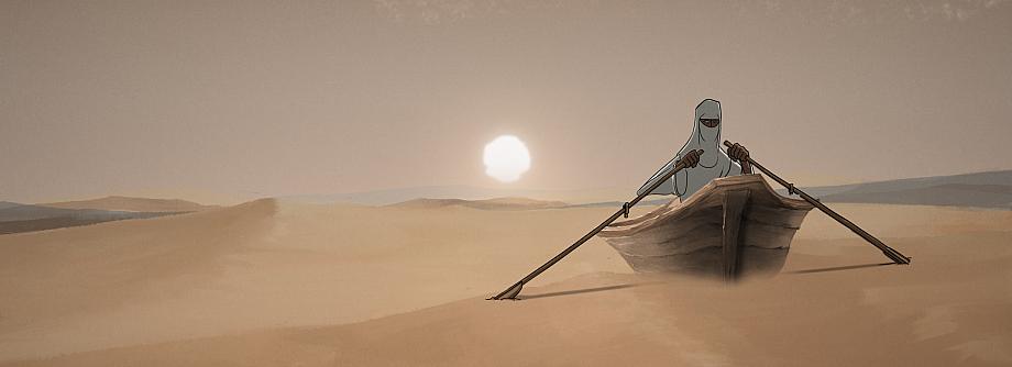 Deserto mare animazione