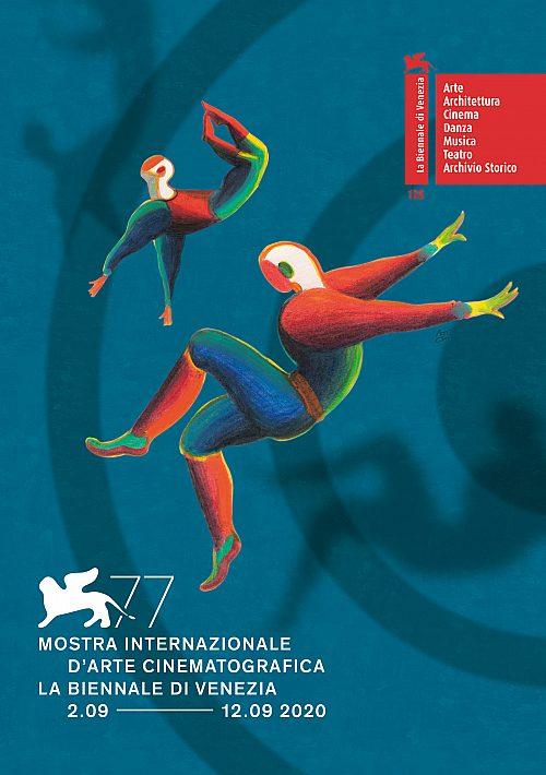 1 VENEZIA 77 Manifesto Credits Disegno originale Lorenzo Mattotti progetto grafico Designwork Courtesy La Bien