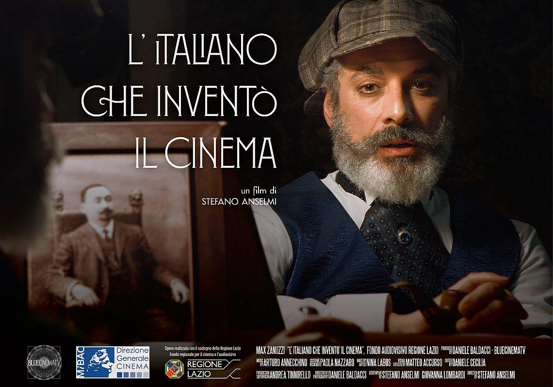 Locandina Litaliano Che Invento Il Cinema