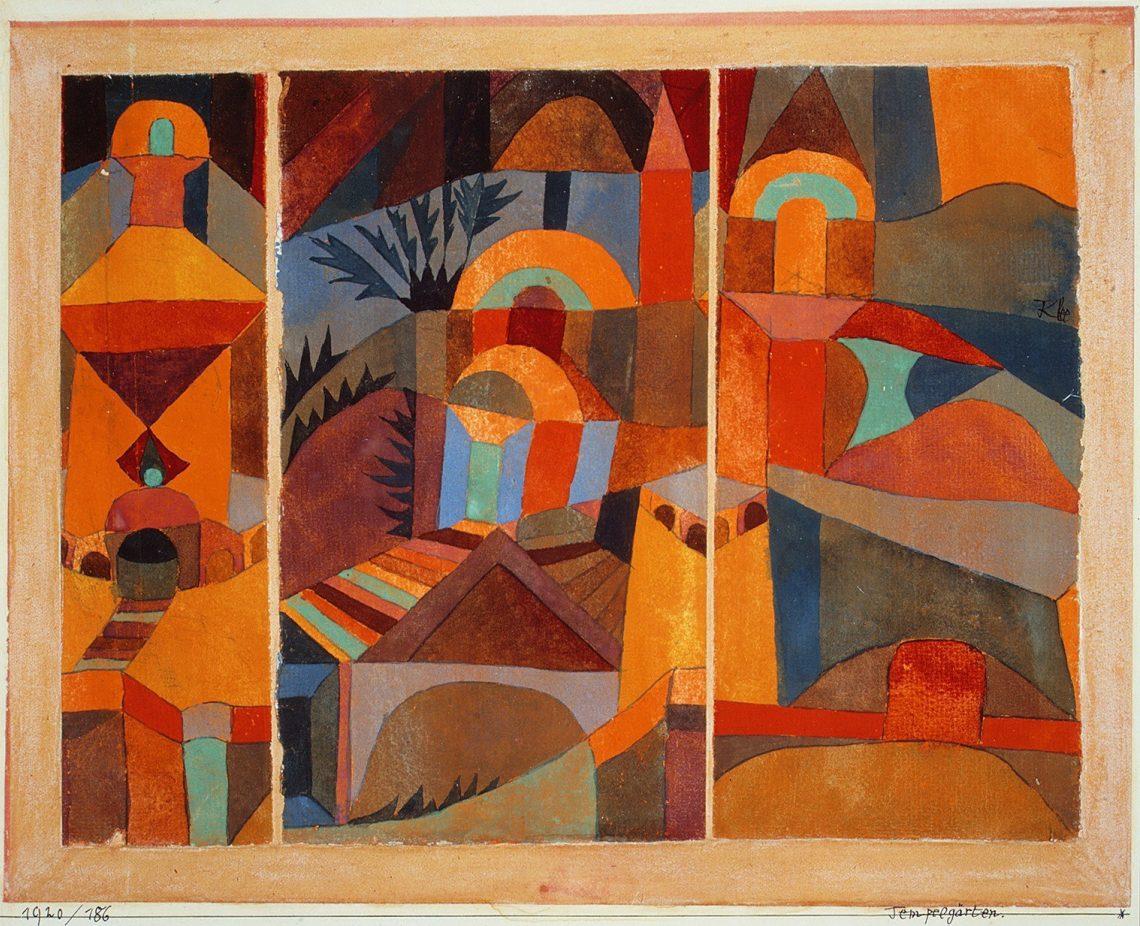Paul Klee   Tempelgärten
