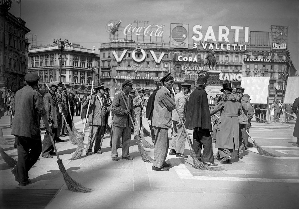 Comparse Spazzini Miracolo A Milano 1951 Archivi Farabola